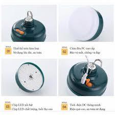Đèn Led tích điện Chiếu sáng khẩn cấp 12W 24W 36W Bóng đèn LED cắm trại sạc  USB đèn siêu sáng chiếu sáng ban đêm - Đèn & Đèn Pin