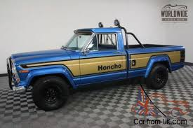 Jeep Honcho: Rare but available