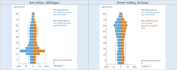 Chart To Show Distribution Create Age Pyramid Charts In Business Analyst