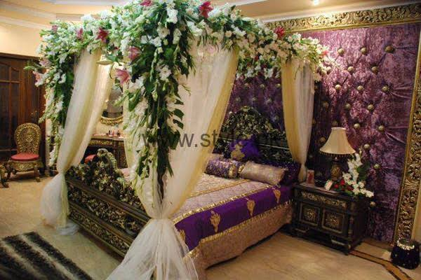 dulha dulhan room decoration
