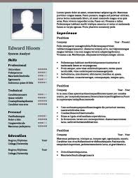 Marquee Resume Template