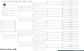 Example Family Tree Template Word Download Create Pedigree Chart ...