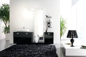 black bath rugs jcpenney