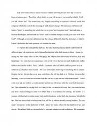 definition paper on faith essays zoom zoom