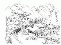 Landscape Coloring Pages For Adults Coloring Pages Colorforms