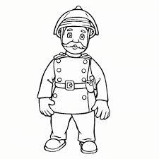 Brandweerman Sam Kleurplaat Mooi Leuk Voor Kids Mandant Steele