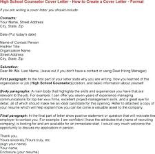 Guidance Counselor Cover Letter No Experience Guidance Counselor
