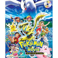 DVD - Japan Animation】Pokemon Movie Collection {25 Movies}  (Sub:Eng/Chi/Mal, Brand New)