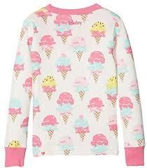 Hatley Baby Size Chart Hatley Hatley Kids Baby Girls Ice Cream Treats Long Sleeve