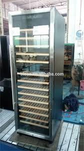 Stainless Steel Refridgerators Compressor Big Upright Restaurant Kitchen Fridge Glass Commercial