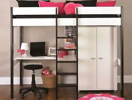 bed with wardrobe. Simple With Stompa Uno Seven Nero Bed With Wardrobe To B