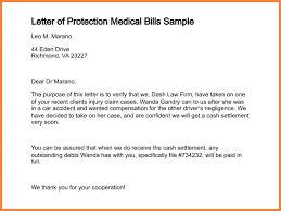 letter of financial hardship for medical bill letter of protection medical bills sample 304 0