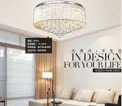 diy modern lighting. new diy luxury modern cristal pendants led crystal chandelier flush mount lighting for foyer d