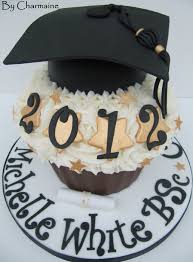 Graduation Giant Cupcake Cake By Charmaine Cakesdecor