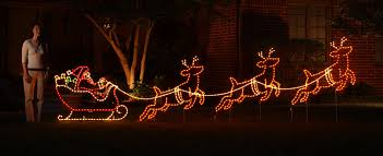 marvellous inspiration ideas led light decorations reindeer lights sleigh with outdoor here