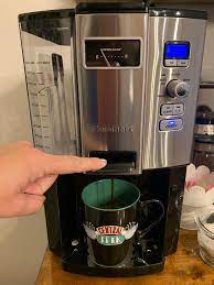 Usually, one clean/brew cycle with the white vinegar and water mixture in the reservoir shall be enough to completely clean the machine. Cuisinart Coffee On Demand 12 Cup Programmable Coffeemaker Walmart Com Walmart Com