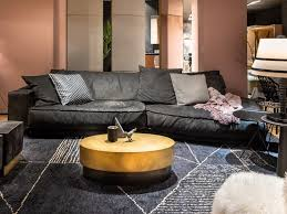 sectional leather sofa baxter