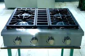 ge profile double oven. Ge Profile Gas Stove Double Oven Ran Knobs Stainless Steel .