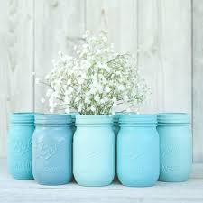 Blue Mason Jars Wedding Decor Best Mason Jars In Bulk Products on Wanelo 18