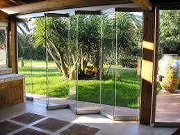 folding glass doors exterior doors
