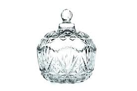 glass decorative jars containers with lids whole fancy clear cookie sugar bowl small empty candy