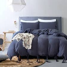minimalist style solid color home hotel bedding sets duvet cover and pillowcase polyester bedclothes quilt king