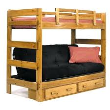 couch bunk bed. Loft Bed With Futon Underneath Wood Kids Bunk Storage Drawers And Black . Couch