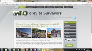 Foresite Web Design Foresite Surveyors Mooki Web Design