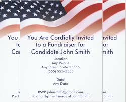 Political Fundraiser Invitation Template 13 Fundraising Invitation