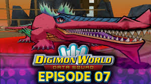 Digimon World Data Squad Ep 7 Sea Precipice Jerapilus