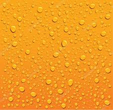 Water Droplets Background Orange Water Droplets Background Stock Vector Volod2943 59752341