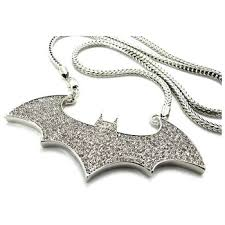 custom made gold iced out hip hop jewelry batman 925 sterling silver micro pave pendants for