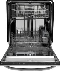 How To Clean The Inside Of A Stainless Steel Dishwasher Gldt696dss Ge Built In Dishwasher With Hidden Controls