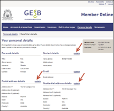 How Can I Update My Address Or Phone Number Gesb