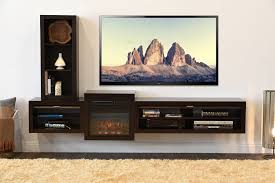Wondrous Fireplace Eco Geo Espresso Floating Tv Stand Entertainment Center  Eco Geo Espresso Woodwaves Plus Floating