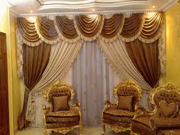 Gold Curtains Living Room Design Treatment Gold Curtains Living