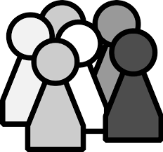group of people clipart black and white. Fine Black Black People Cliparts 2481806 License Personal Use For Group Of Clipart And White R