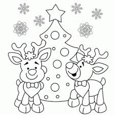 Reindeer Coloring Page Free Christmas Recipes Coloring Pages For