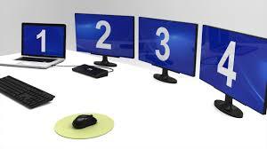 <b>TRIPLE</b> SCREEN DOCKING STATION OFFICE 3 X 4K - USB-C + ...