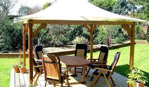 wood canopy outdoor en plans