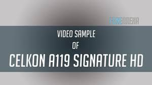 Celkon A119 Signature HD Video Sample ...