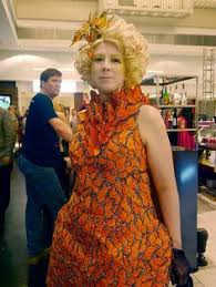 it s time for the post dragon con cosplay explosion buzzcarl dianne williams effie trinket erfly costume