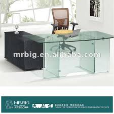 office table glass. db029 stainless steel glass office design executive table