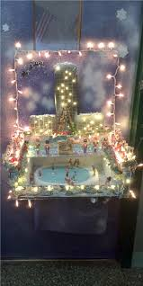 images christmas decorating contest. Ms. Murray Was Very Creative With A Gorgeous Diorama Of Christmas At Rockefeller Center. It Included The Tree, Nutcrackers, Images Decorating Contest