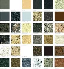 Quartz Countertop Color Chart Handknitted Co