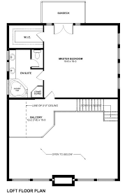 a frame house plan 99961 level two