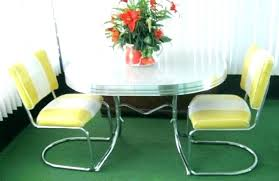 kitchenette table and chairs kitchen table and chairs kitchen table and chairs vintage retro chrome dining