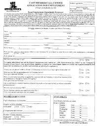Chuck E. Cheese's Application Form