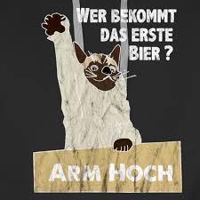 Oktoberfest Witziges Party Katzen Motiv Mit Bier Spruch Männer