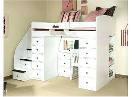 twin bed with desk underneath twin loft bed desk storage